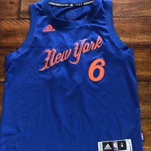 NY Knicks Boys Holiday Jersey
